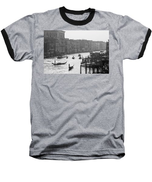Baseball T-Shirt featuring the photograph Venice Grand Canal by Silvia Bruno