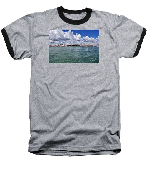 Baseball T-Shirt featuring the photograph Venice by Simona Ghidini