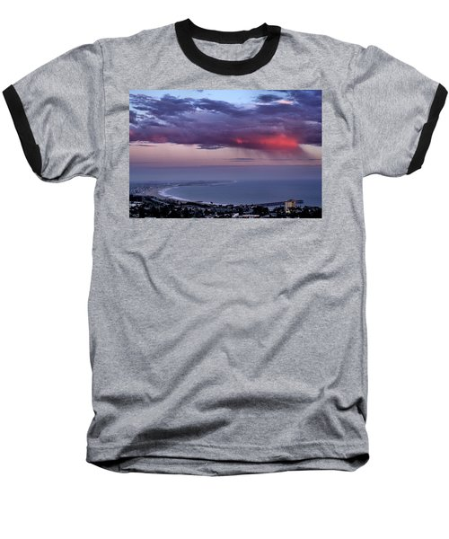 Baseball T-Shirt featuring the photograph Ventura Beach by Michael Gordon