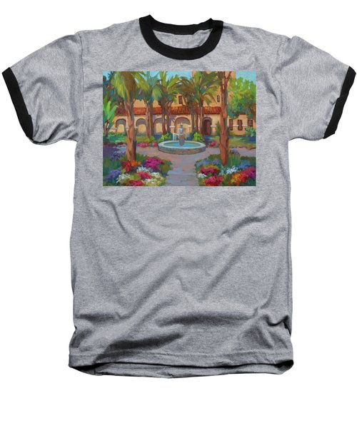 Ventura Mission Baseball T-Shirt by Diane McClary