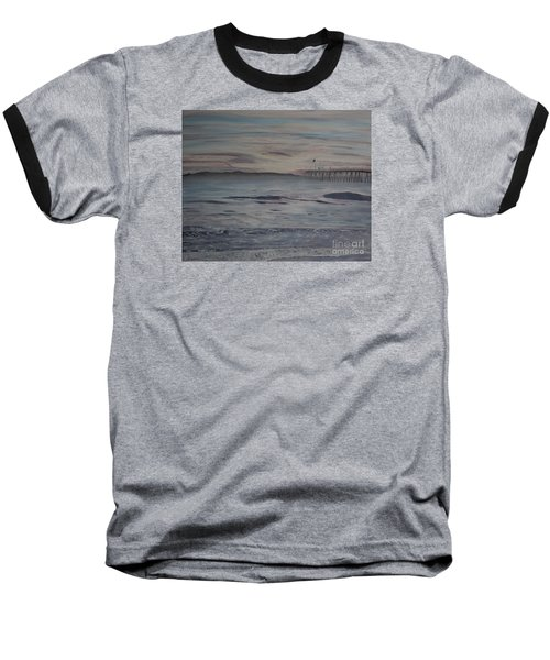 Ventura Pier High Surf Baseball T-Shirt