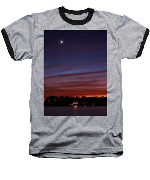 Venus And Mercury Baseball T-Shirt
