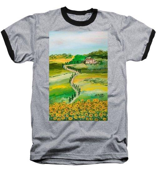 Verde Sentiero Baseball T-Shirt