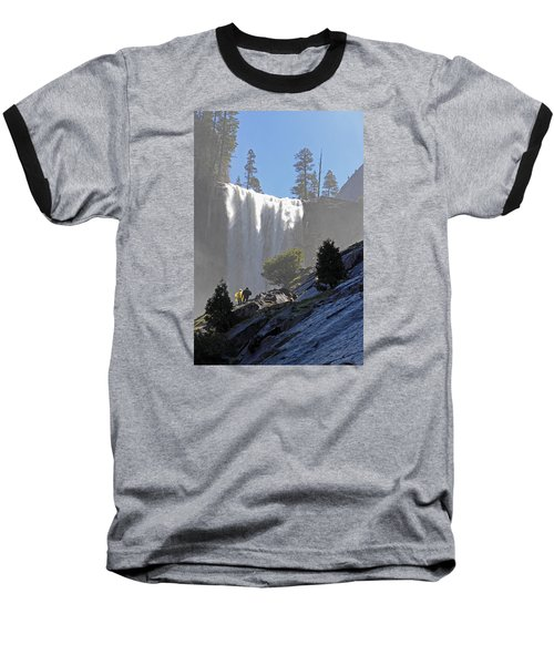 Vernal Falls Mist Trail Baseball T-Shirt
