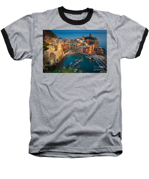 Vernazza Pomeriggio Baseball T-Shirt