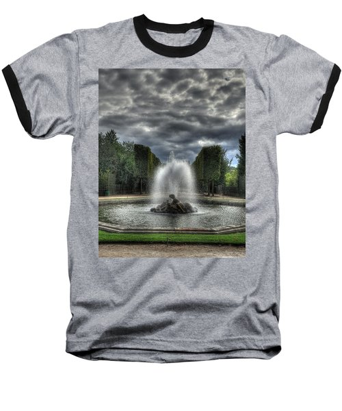 Versailles Fountain Baseball T-Shirt