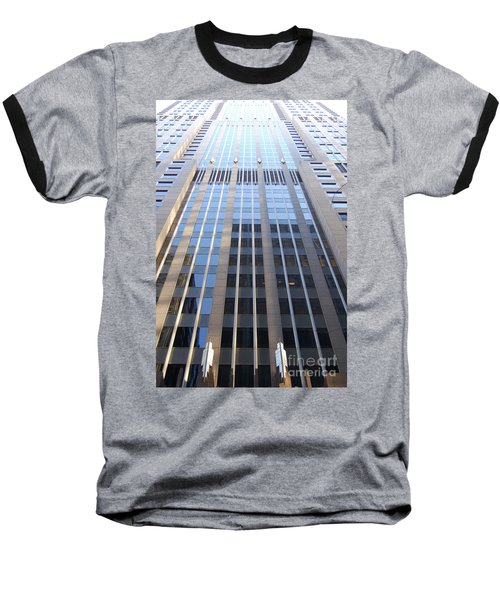 Vertical Chicago By Jammer Baseball T-Shirt