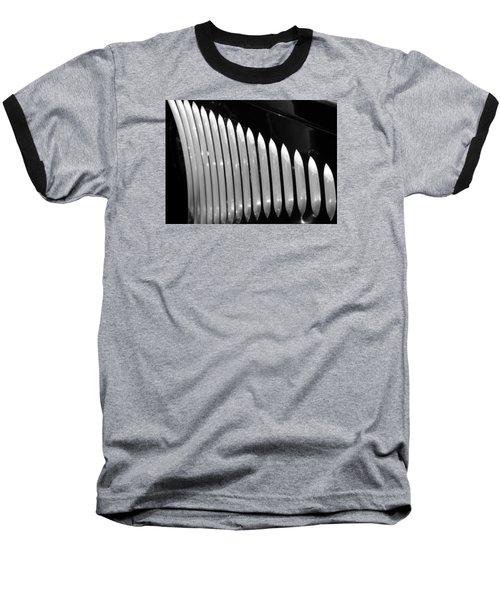 Vertical Vents Baseball T-Shirt by Rebecca Davis