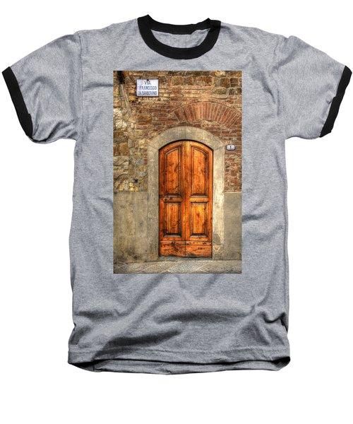 Via Francesco Baseball T-Shirt