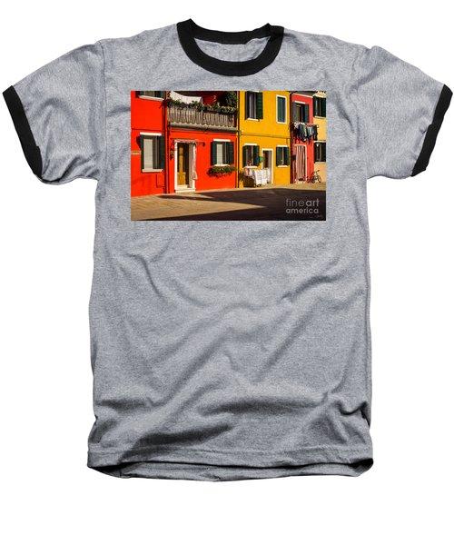 Vibrant Burano Baseball T-Shirt