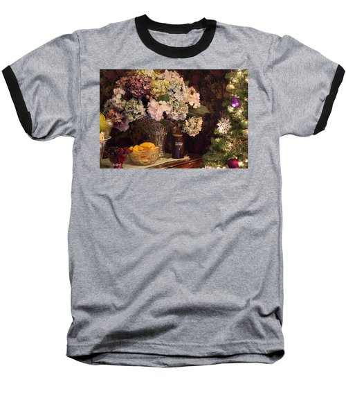 Baseball T-Shirt featuring the photograph Victorian Christmas by Patricia Babbitt