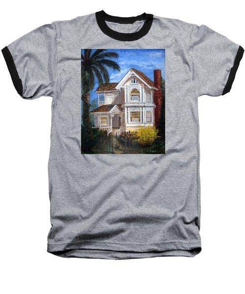Victorian House Baseball T-Shirt