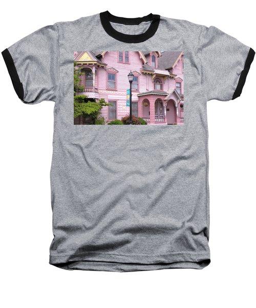 Victorian Pink House - Milford Delaware Baseball T-Shirt