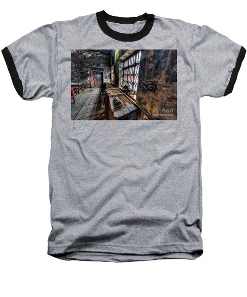 Victorian Workshops Baseball T-Shirt by Adrian Evans