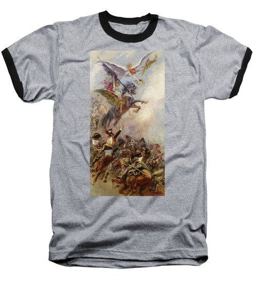 Victory Baseball T-Shirt by Jean-Baptiste Edouard Detaille