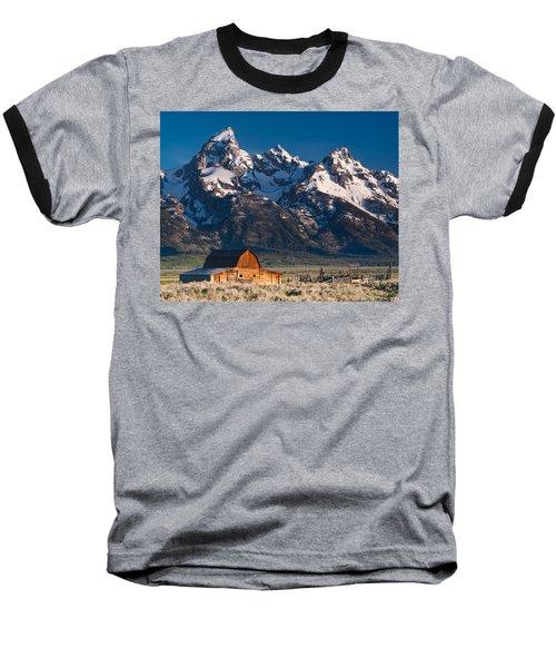 View At John Moulton Barn Baseball T-Shirt