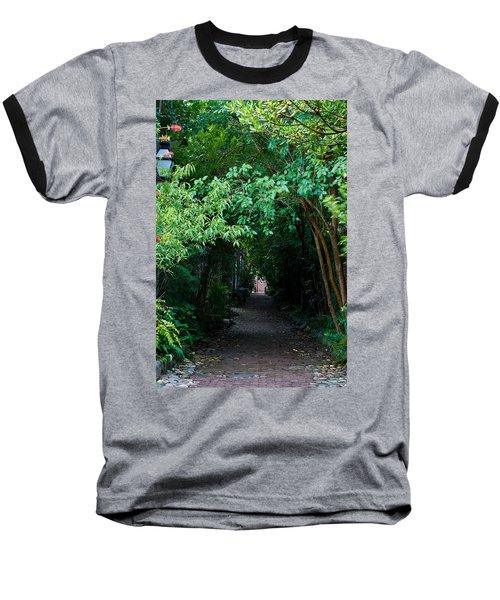 View Down Philadelphia Alley Baseball T-Shirt