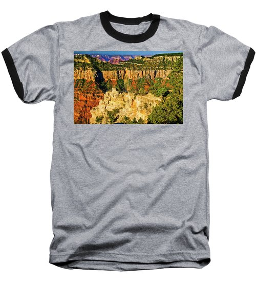 Baseball T-Shirt featuring the photograph View From Angel Point  by Bob and Nadine Johnston