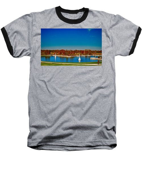 View From Art Hill Forest Park Missouri Baseball T-Shirt
