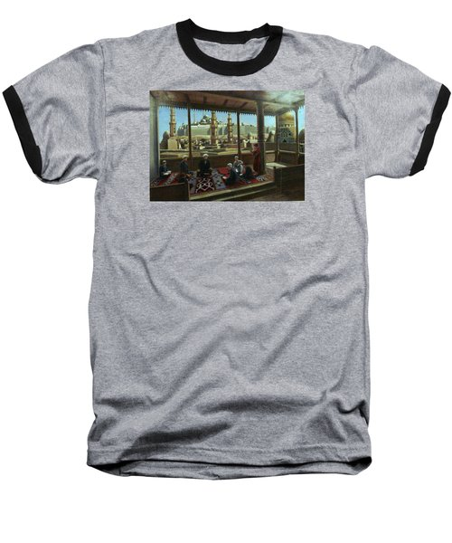 View From Egypt Baseball T-Shirt by Laila Awad Jamaleldin