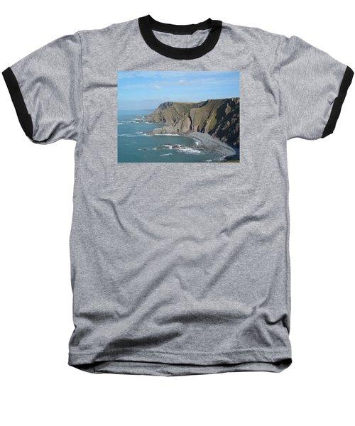 Higher Sharpnose Point Baseball T-Shirt by Richard Brookes