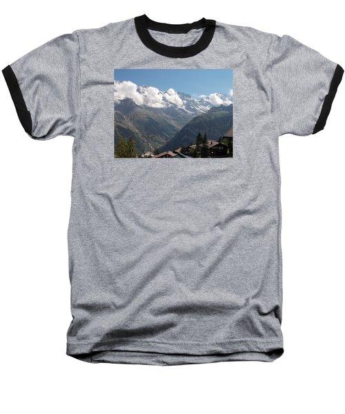 View From Murren Baseball T-Shirt