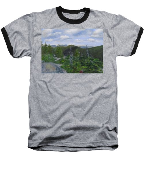 View From Noon Peak Baseball T-Shirt