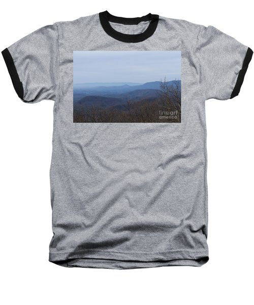 View From Springer Mountain Baseball T-Shirt by Paul Rebmann