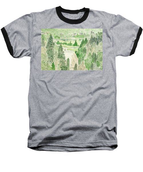 View From The Dam Baseball T-Shirt