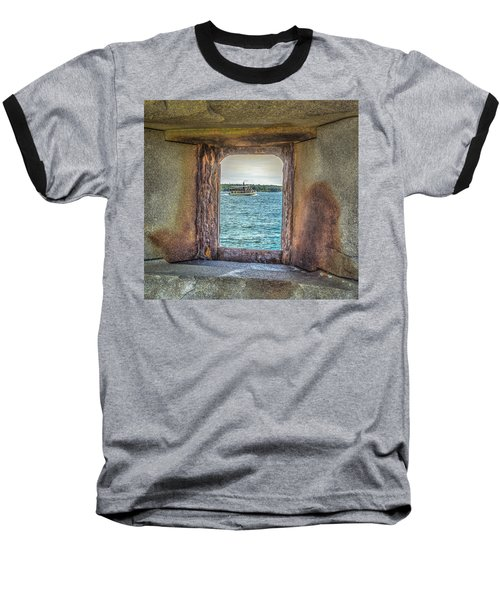 Baseball T-Shirt featuring the photograph View From The Fort by Jane Luxton