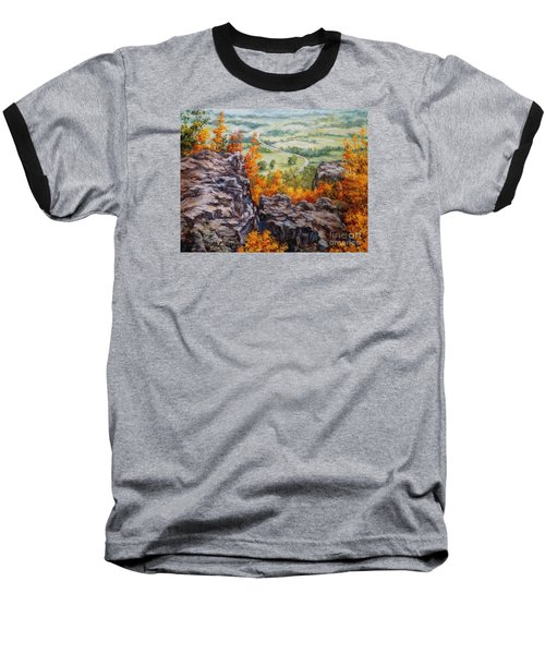 View From The Point Petit Jean Baseball T-Shirt