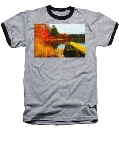 View From The Rock Baseball T-Shirt