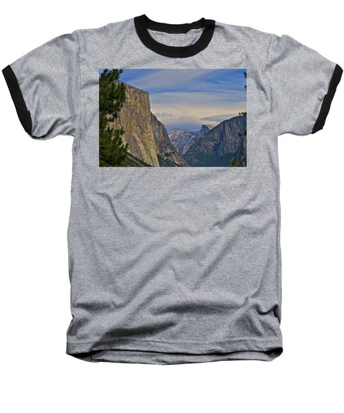 View From Wawona Tunnel Baseball T-Shirt
