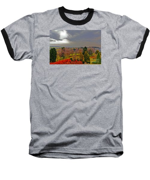 View Of Belgium Baseball T-Shirt