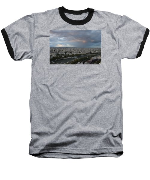 View Of Paris Baseball T-Shirt by Ivete Basso Photography