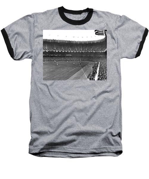 View Of Yankee Stadium Baseball T-Shirt