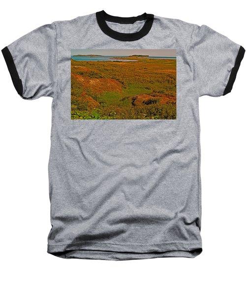Viking Landing Point At L'anse Aux Meadows-nl Baseball T-Shirt