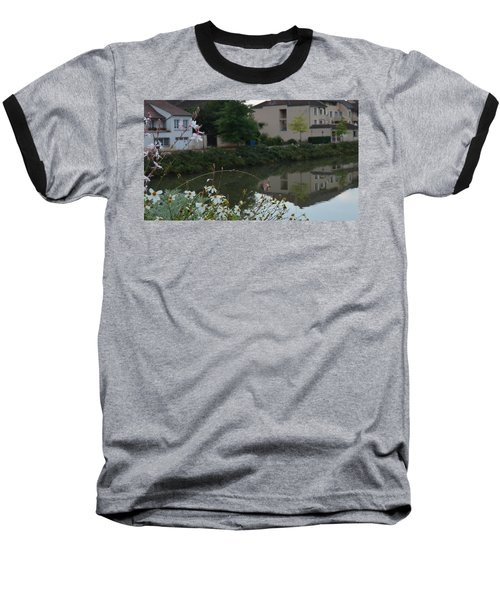 Village Life Baseball T-Shirt