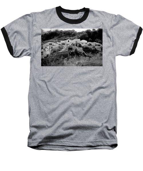 Village Nestled In The Hills  Baseball T-Shirt