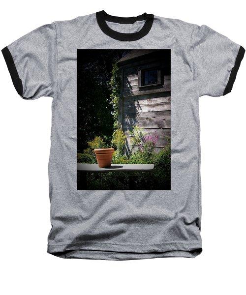 Baseball T-Shirt featuring the digital art Villagio by Barbara S Nickerson