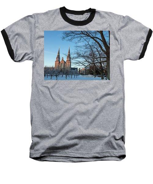 Villanova Winter Saint Thomas Baseball T-Shirt