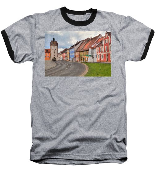 Vilseck Marktplatz Baseball T-Shirt