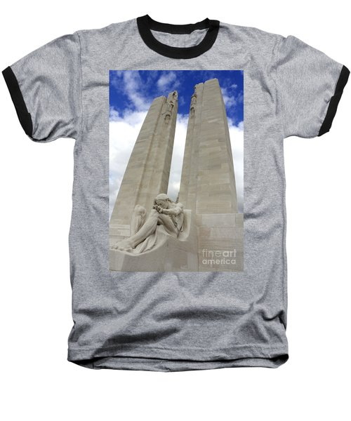 Vimy Ridge Memorial France Baseball T-Shirt