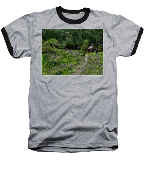 A Lupine Tale  Vincents View Baseball T-Shirt