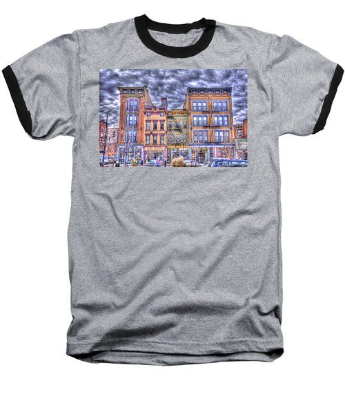 Vine Street Baseball T-Shirt by Daniel Sheldon