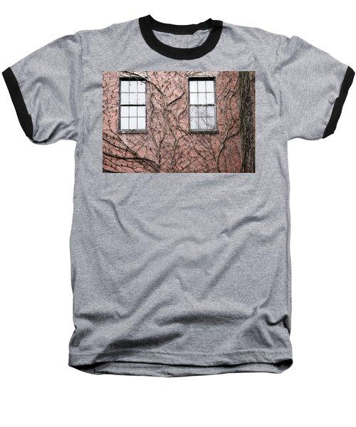 Vines And Brick Baseball T-Shirt