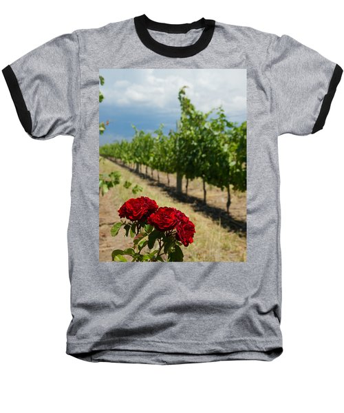 Vineyard Rose Baseball T-Shirt
