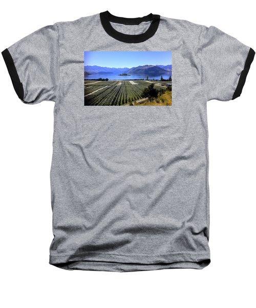 Vineyard View Of Ruby Island Baseball T-Shirt by Venetia Featherstone-Witty