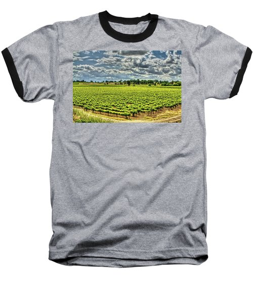 Vineyards Almost Ripe Baseball T-Shirt