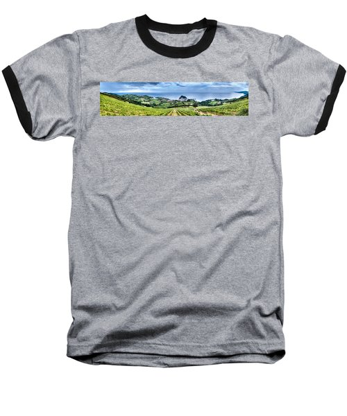 Vineyards By The Sea Baseball T-Shirt